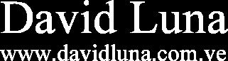 Mi sitio en la Web – www.davidluna.com.ve